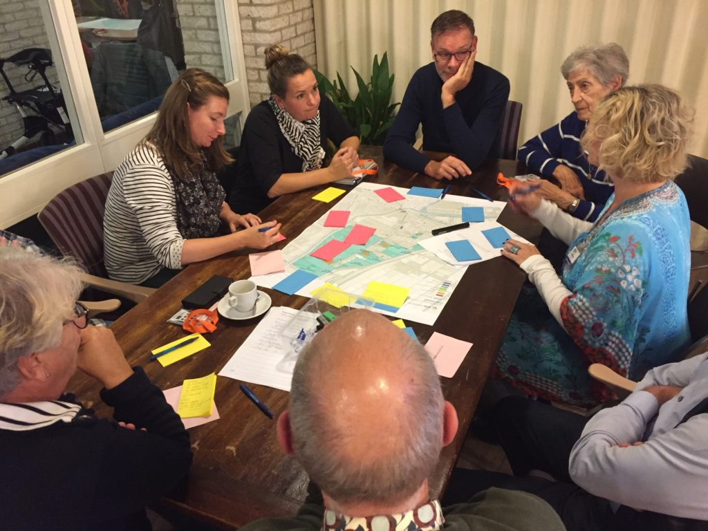 Bijeenkomst Voorzieningen, Werk en een Dorpsplek